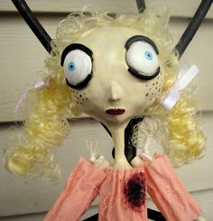 The Bad Seed (and wow, as an early doll of mine, does she look *different*!)