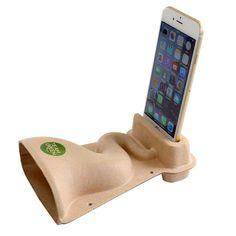 Invotis Smart Horn Paper Speaker Pappmaschee Flüstertüte NEU/OVP 100% Recycelt Boombox, Smartphone, Speaker Design, Office Items, Iphone 4, Usb Flash Drive, Cool Designs, Packaging, Ebay