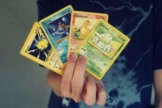 nostalgia no. 8: pokemon cards.