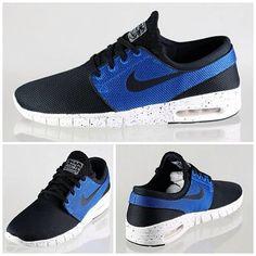 Nike SB Stefan Janoski Max – Black – Photo Blue