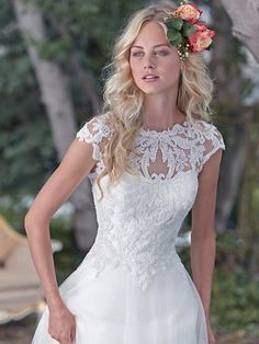 Maggie Sottero Wedding Dress Chandler 6MC188 front