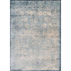 Ornate traditionals distressed and full of character are modernized by illuminating color-ways in the Anastasia collection. Power loomed in Egypt of polypropylene and polyester, Anastasia not only is durable and easy care, but gives the appearance of being a fine rug made by hand. The intricate detail, luster of colors, and unbeatable price point establish the value of this outstanding collection. Anastasia is available in various sizes including rounds and runners.  Power Loomed Polyprop...