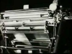 Redação de O Estado de S. Paulo em 1935 - Sao Paulo Sonofilms