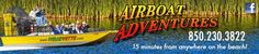Airboat Adventures - Panama City Beach, Florida   Attractions   Alligators   Eco Tours   Swamps   Family Fun   West Bay   Eagles   Dolphins