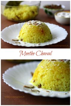... cooked with saffron, nuts, sugar and cardamom flavor and served hot