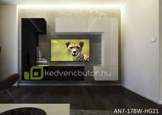 Modern nappali bútor NEXT AN7-17BW-HG22-1BA Modern nappali bútor NEXT AN7 egy falra szerelhető bútor szett, amiben elegánsan tárolhatjuk kikapcsolódásunk kellékeit. 35 cm-es mélysége miatt nem foglal el jelentős helyet a szobából.Magasfényű felülete miatt szép kontrasztot ad egy egyszerű festett falfelülettel, vagy tapétávalMéretek: 272 x 187 x 35 cmSzínválaszték:magasfényű fekete / magasfényű fehérLengyel bútor. Garancia 12 hónapKedves Vásárló!FONTOS INFORMÁCIÓ!Felhívjuk szíve Flat Screen, Blood Plasma, Flatscreen, Dish Display