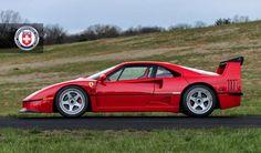Gorgeous Ferrari F40 Poses For The Camera