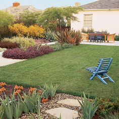 drought tolerant landscape, california | Reining in Water Use | Lawn Care | Yard & Garden | This Old House