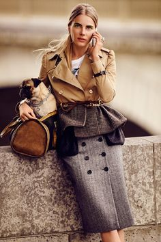 perfect suit layering for fall