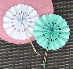April Etsy Round Up : The Best Paper Fans