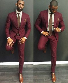Green Custom Made 2019 Hot Sell Wedding Suits Groom Slim Fit Mens Business Suit Men's Suits Jacket + Pants + Tie Wedding Suits Business Suit Men's Suits Maroon Suit, Burgundy Suit, Maroon Color, Maroon Blazer, Mens Fashion Suits, Mens Suits, Mens Slim Fit Suits, Suits Women, Slim Suit
