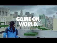 "NIKE ""Game on world"" Werbung 2012 - YouTube"