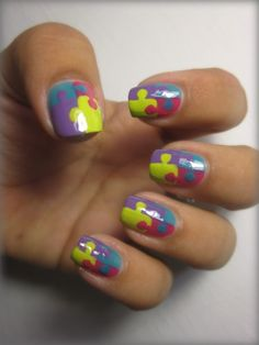 Jigsaw Nails