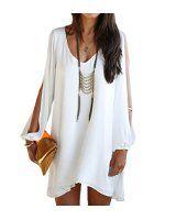 Bepei Women Bohemian Floral Plus Size Dolman Chiffon Print Blouse Loose Off Shoulder T Shirt: Amazon.co.uk: Clothing