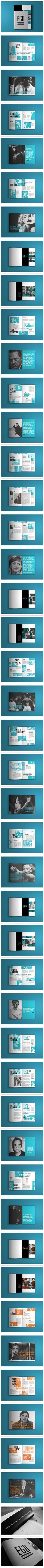 EGO: black white turquoise | typography / graphic design: EGO Editorial Design, collaboration David Salgado, Mariana Perfeito |: