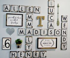 Large Scrabble Tiles Decorative Scrabble Letters Wall Decor  Diy  Pinterest  Letter Wall Decor