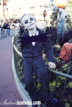 Southern Revivals: Walmart Gangster Turned Jack Skellington Halloween Costume Tutorial