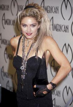 Madonna Style Evolution  January 1985
