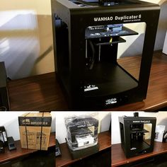 Look what arrived today #wanhao #duplicator6 #new #3dprinting #3dprinter #3d #NewToy #microswissllc #StayingLateToTest #fun #mineapolis #mn by microswissllc