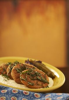 You'll fall in love with our Fried Green Tomatoes!