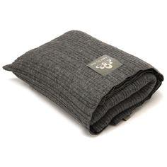 #CareByMe Feine Decke/Schal 100% Wolle handgestrickt - Gefunden auf #KONTOR1710