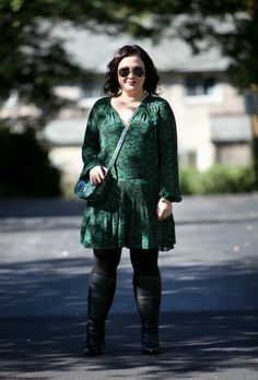What I Wore: Peacock Green - Wardrobe Oxygen