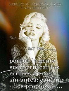 Suelen ver los Errores ajenos ,sin ver los propios…..