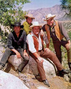 Bonanza (NBC)...Pernell Roberts, Michael Landon, Dan Blocker, Lorne Green