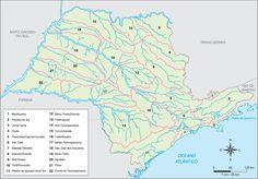 São Paulo - Conheça seu Estado (História e Geografia): 52 - Bacias hidrográficas…