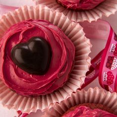 What better way to tell mom you love her than with #glutenfree #vegan #sugarfree  Irresistible Red Velvet Cupcakes made with Cranberries! Recipe from the award-winning cookbook Sweet Debbie's Organic Treats: Allergy-free and Vegan Recipes from the Famous Los Angeles Bakery. http://amzn.com/0373892829