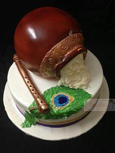 Krishna eggless cake