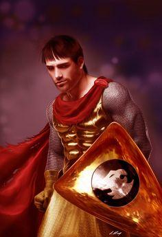 Eric -Caverna do Dragão (arte de Alexandre Salles) Dungeons & Dragons