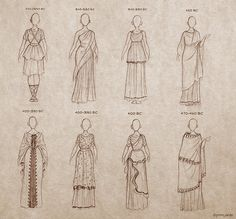 ancient greek dresses