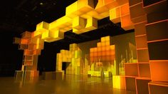video mapping for Orange