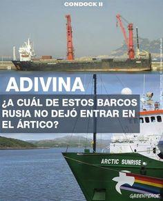 Rusia no quiere a Greenpeace en el Ártico | Greenpeace España