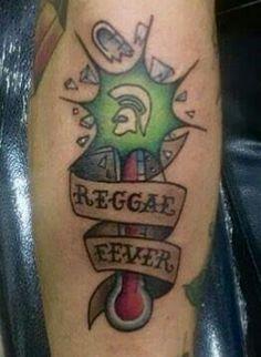 Tatoo - Reggae Fever -Skinhead