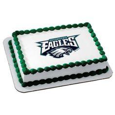 Amazon.com: NFL Philadelphia Eagles ~ Edible Cake Image Topper: Everything Else