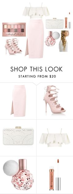 """Untitled #7"" by tashajulia on Polyvore featuring MSGM, Alexander McQueen, BCBGMAXAZRIA, Topshop and Maybelline"