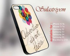 adventure is out there   iPhone 4/4s/5/5c/5s Case  by SULASTRIYEM, $13.75