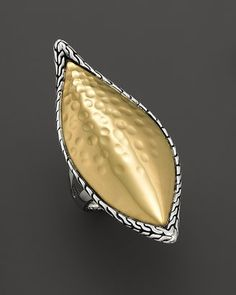 "John HardyPalu Kapal"" 22K Gold And Sterling Silver Large Sail Ring"