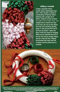 Create your own DIY ribbon wreath that will last for years to come.
