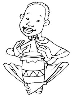 Kids Under 7 Musicalinstruments Coloring Pages MSICA E