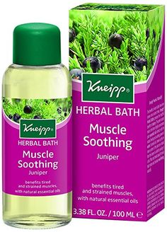 Kneipp 100 ml Juniper Herbal Bath. Herbal bath. It's an Amazon affiliate link.