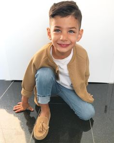Women S Fashion Designer Brands Product Cute Boy Outfits, Little Boy Outfits, Little Boy Fashion, Kids Fashion Boy, Cute Kids, Cute Babies, Little Boy Haircuts, Baby Boy Swag, Mommy And Son