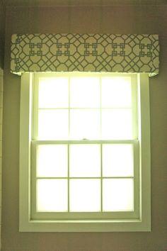 Window Cornice Made From Joann S Cornice Kit Fun At