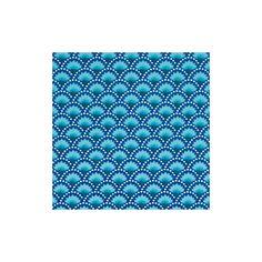 Coton enduit Wasabi bleu