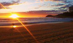 Surfs up at Sunrise on Manly Beach...  #surf #manlybeach #sunrise #lovemanly #sydney