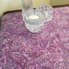 Updated photos of this gorgeous floral paisley #homedecor