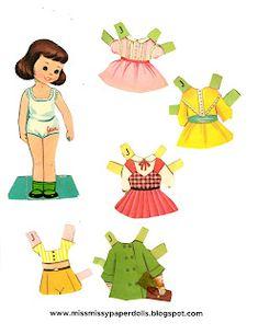 Miss Missy Paper Dolls: July 2021