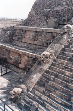 Teotihuacan - Yes I climbed the pyramids and considering how long it took, I had a nice sunburn.
